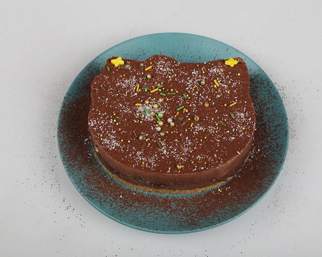 巧克力慕斯蛋糕(南西烘焙)的做法