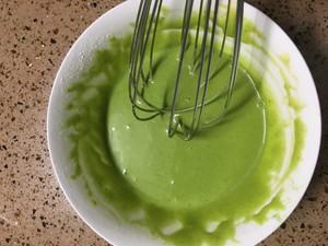 辅食:菠菜山药蛋糕卷(无糖) 制作方法