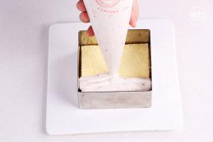 仿火遍台湾不二家的芋头蛋糕(杏仁粉版)的做法 步骤21