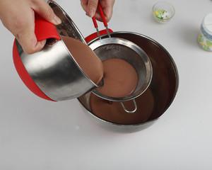 巧克力慕斯蛋糕(南西烘焙)的做法 步骤10