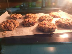 黑芝麻燕麦小饼干(无油无糖)的做法 步骤3