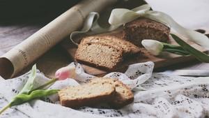 甜中微咸的精品,葱油磅蛋糕的做法 步骤9