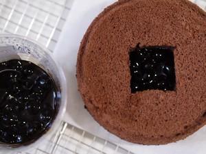 雪藏珍珠奶盖蛋糕【北鼎烤箱食谱】的做法 步骤26