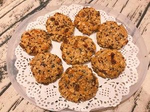 黑芝麻燕麦小饼干(无油无糖)的做法 步骤4