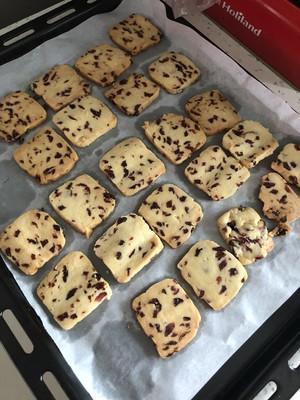 低糖少油蔓越莓饼干的做法 步骤12