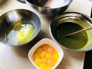 抹茶红豆戚风蛋糕的做法 步骤1