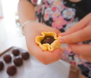 【懒人版】超详细快手蛋黄酥的做法 步骤9