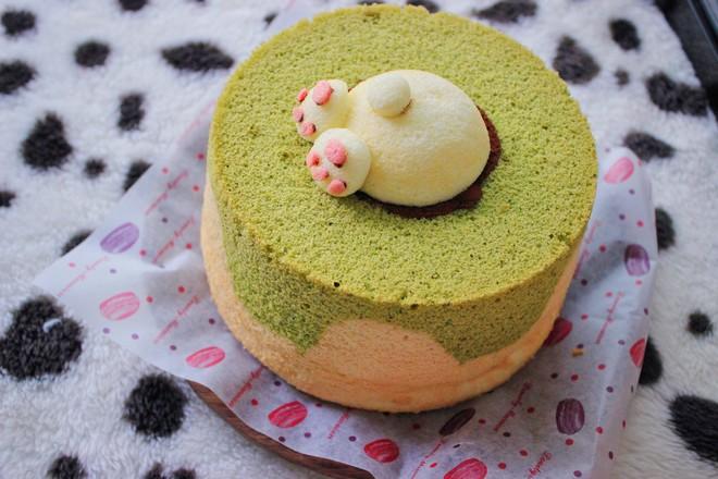 兔子雪纺蛋糕~UKOEO 高比克风炉食谱的做法