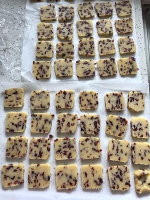 低糖少油蔓越莓饼干的做法 步骤11