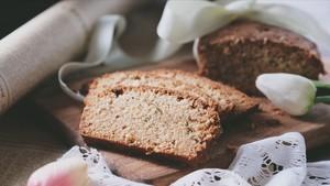 甜中微咸的精品,葱油磅蛋糕的做法 步骤10