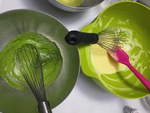 兔子雪纺蛋糕~UKOEO 高比克风炉食谱的做法 步骤8