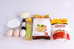 仿火遍台湾不二家的芋头蛋糕(杏仁粉版)的做法 步骤1