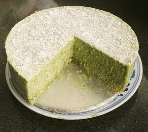 艾草慕斯蛋糕的做法 步骤3