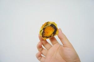 【懒人版】超详细快手蛋黄酥的做法 步骤16