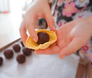 【懒人版】超详细快手蛋黄酥的做法 步骤8