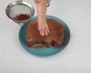巧克力慕斯蛋糕(南西烘焙)的做法 步骤13
