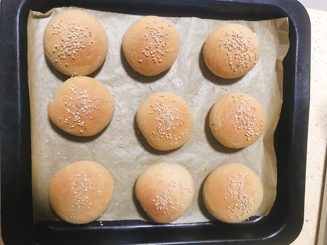 100%全麦紫薯小餐包的做法