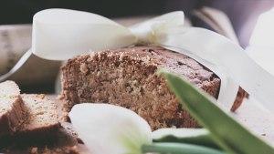 甜中微咸的精品,葱油磅蛋糕的做法 步骤11