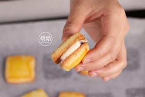 香而不腻 一口惊人的乳酪夹心酥饼的做法 步骤22