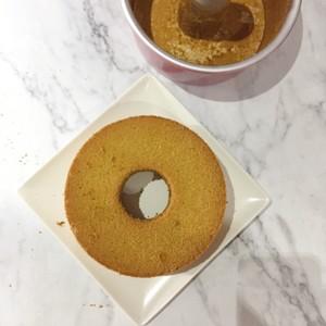 淡抹茶酸奶戚风的做法 步骤8