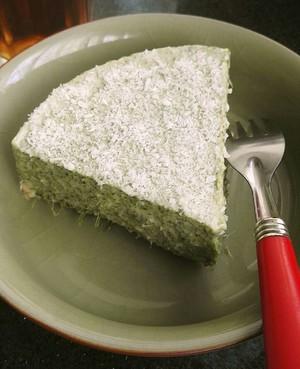 艾草慕斯蛋糕的做法 步骤4