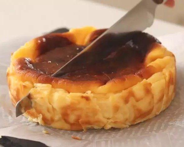风靡ins的烤芝士蛋糕(超简单的做法