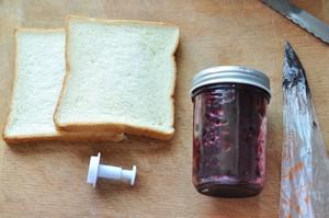 樱桃 吐司的做法 步骤1
