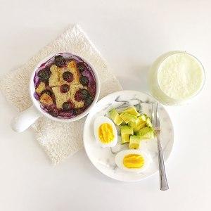 爆浆蓝莓吐司布丁 制作方法