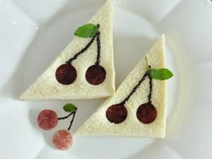 樱桃 吐司的做法 步骤11