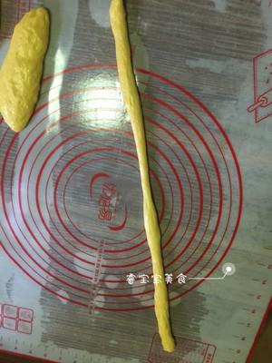 南瓜老面包的做法 步骤7