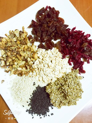 杂粮坚果全麦软欧包的做法 步骤1