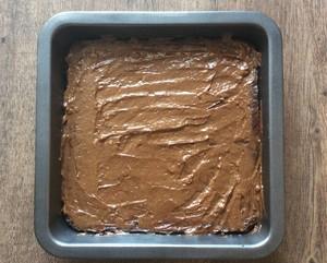 【健康甜品】全素无面粉布朗尼的做法 步骤5