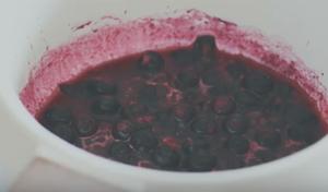 纯素蓝莓芝士蛋糕的做法 步骤11