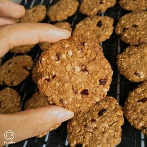 蔓越莓燕麦饼干的做法 步骤3