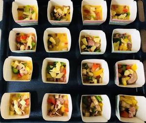 蔬菜培根鸡蛋杯的做法 步骤5