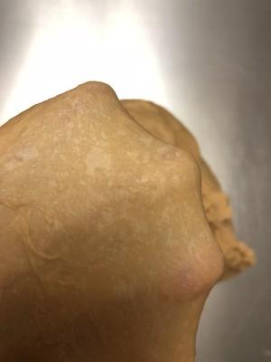红糖大枣核桃吐司的做法 步骤2