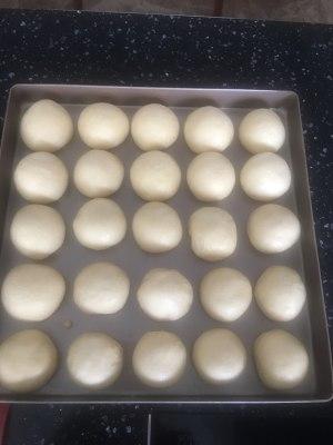 牛奶蜂蜜小面包(美善品版)的做法 步骤6