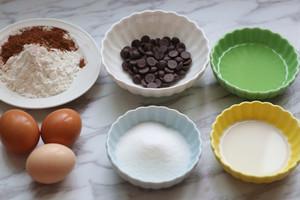 细腻不上火的巧克力蒸蛋糕的做法 步骤1