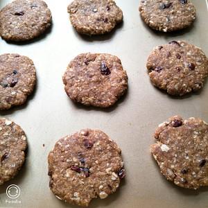 蔓越莓燕麦饼干的做法 步骤2