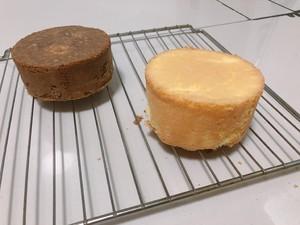 超好看棋格蛋糕!  制作方法