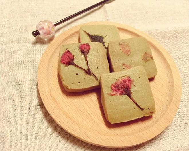 樱花抹茶曲奇  制作方法