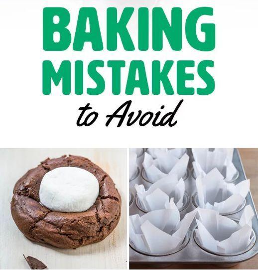 新手烘焙技巧,10个你可能常犯的烘焙错误,你踩雷了吗?