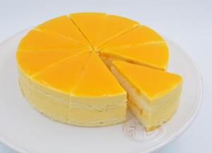 芒果慕斯蛋糕的做法 步骤8