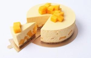 芒果慕斯蛋糕的做法 步骤9