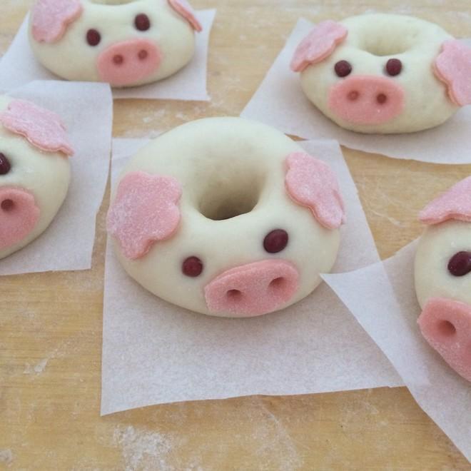 甜甜圈小猪馒头的做法