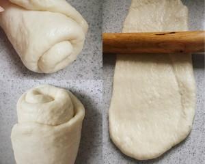 浓郁奶香土司(和面机版)的做法 步骤6