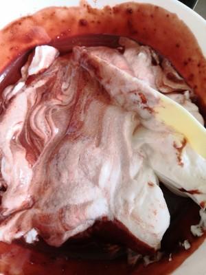六寸红丝绒戚风蛋糕的做法 步骤6