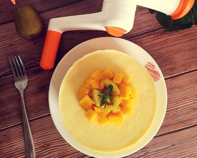 芒果芝士慕斯蛋糕  制作方法