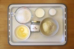 榴莲椰子塔——北鼎烤箱食谱的做法 步骤4