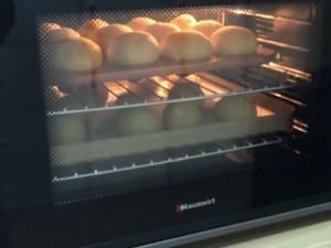 黄桃面包的做法 步骤13